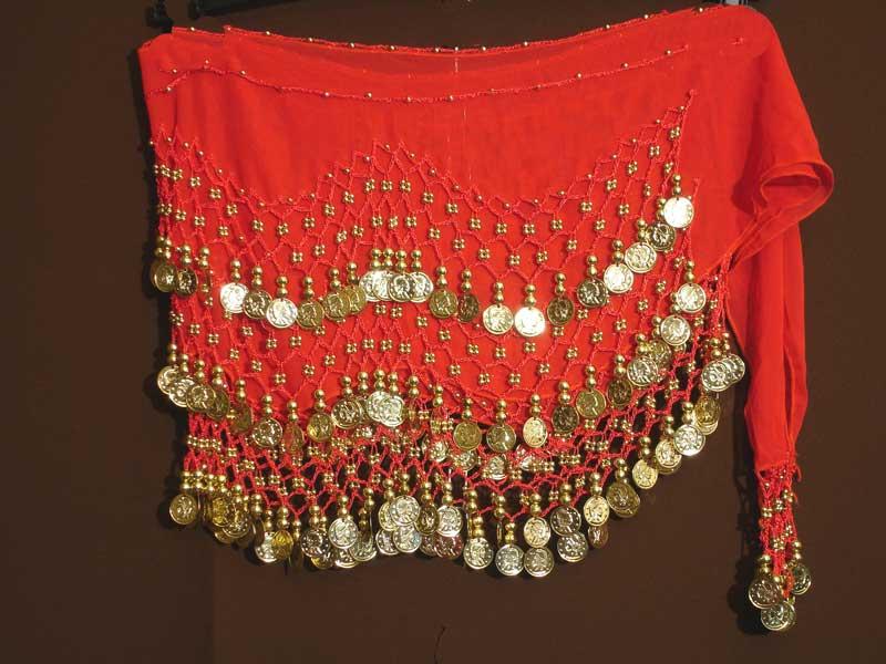 Пояс для восточных танцев с монетками своими руками 20
